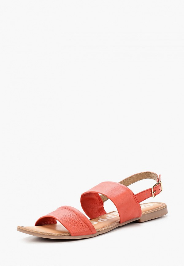 Фото 2 - Женские сандали Gioseppo кораллового цвета