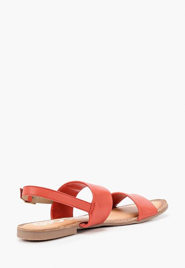 Фото 3 - Женские сандали Gioseppo кораллового цвета