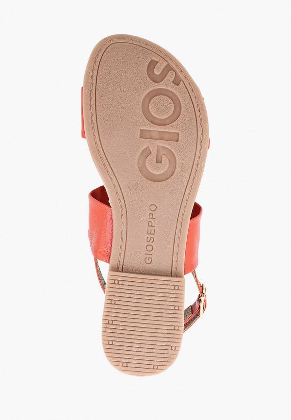Фото 5 - Женские сандали Gioseppo кораллового цвета