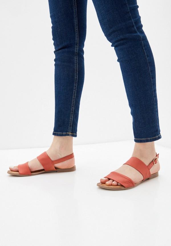 Фото 6 - Женские сандали Gioseppo кораллового цвета