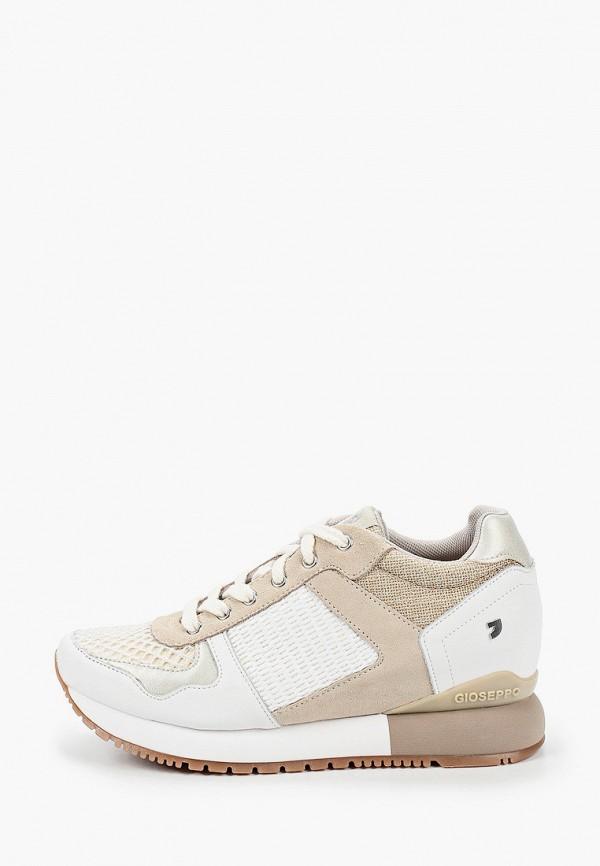 женские кроссовки gioseppo, белые
