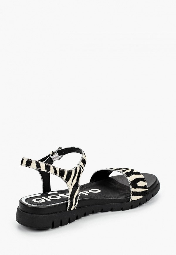 Фото 3 - Женские сандали Gioseppo черного цвета