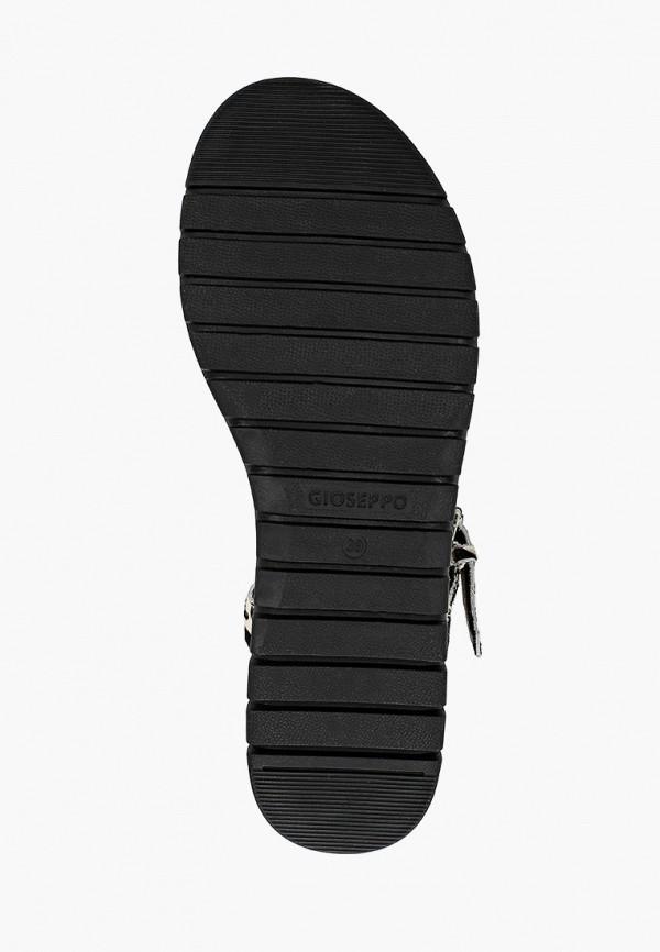 Фото 5 - Женские сандали Gioseppo черного цвета