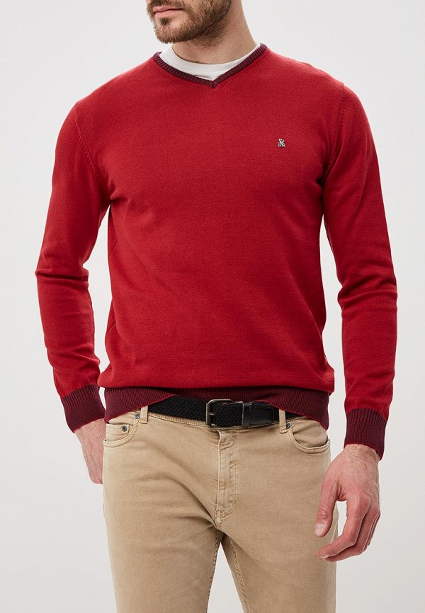 мужской пуловер giorgio di mare, красный