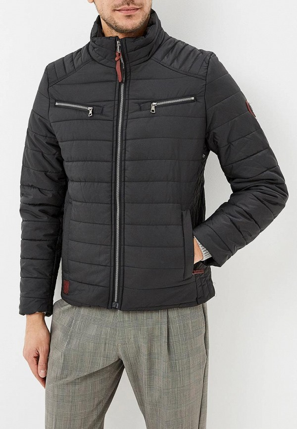 мужская куртка giorgio di mare, черная