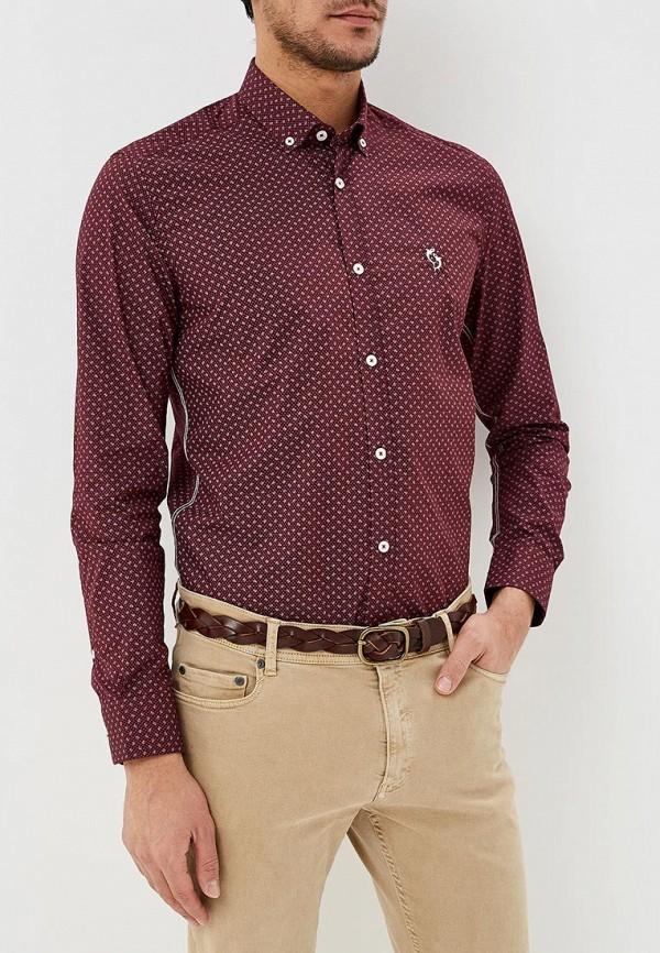 Фото - Рубашку Giorgio Di Mare бордового цвета