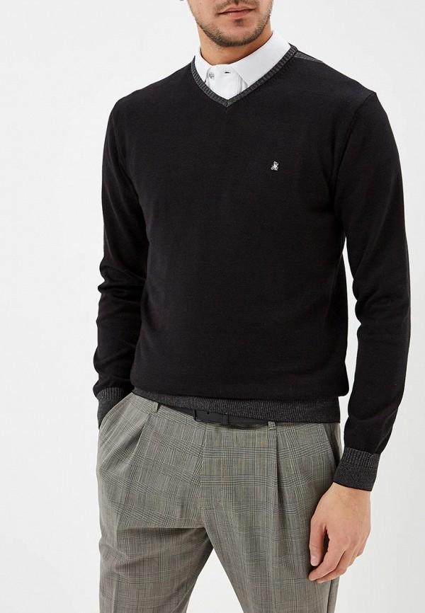 мужской пуловер giorgio di mare, черный