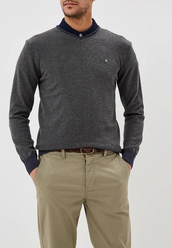 мужской пуловер giorgio di mare, серый