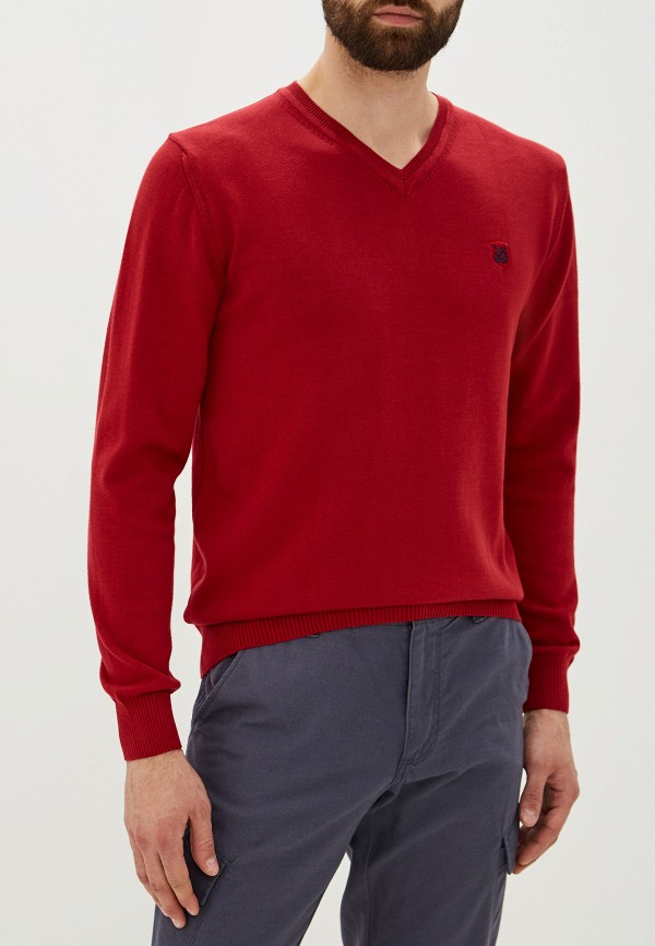 мужской пуловер giorgio di mare, бордовый