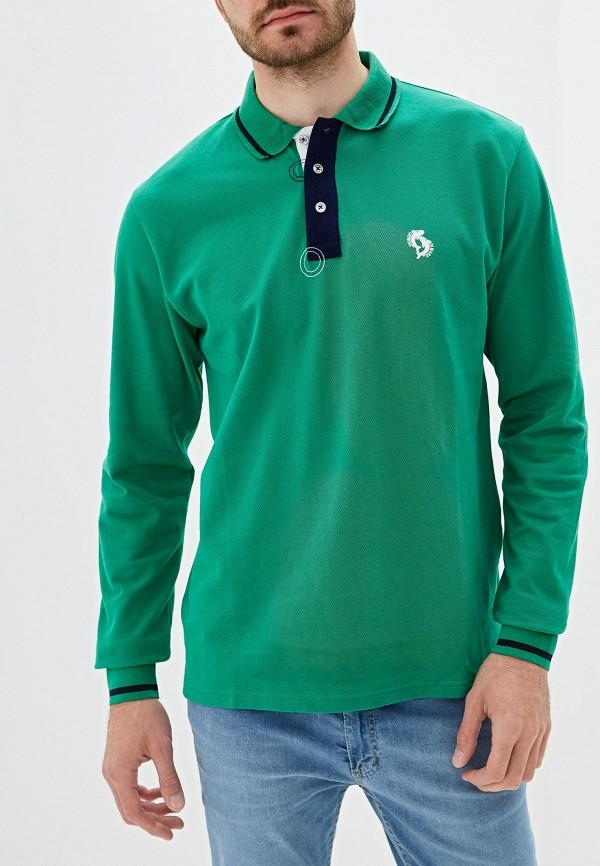 Фото - мужское поло Giorgio Di Mare зеленого цвета
