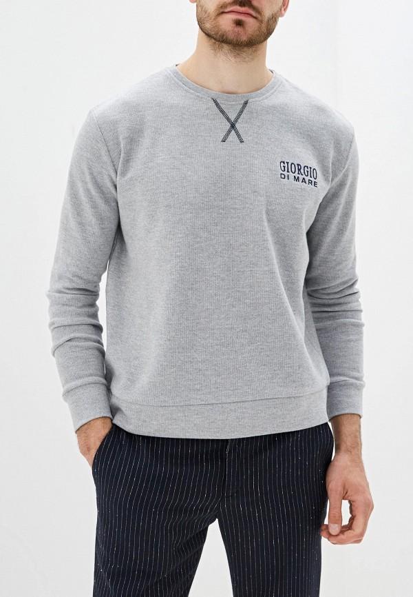 мужской свитшот giorgio di mare, серый
