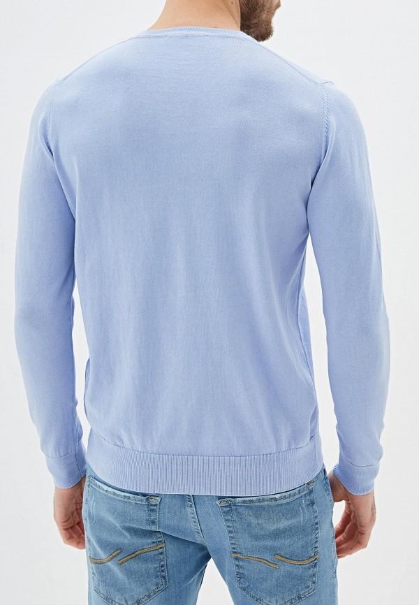 Фото 3 - мужской пуловер Giorgio Di Mare голубого цвета