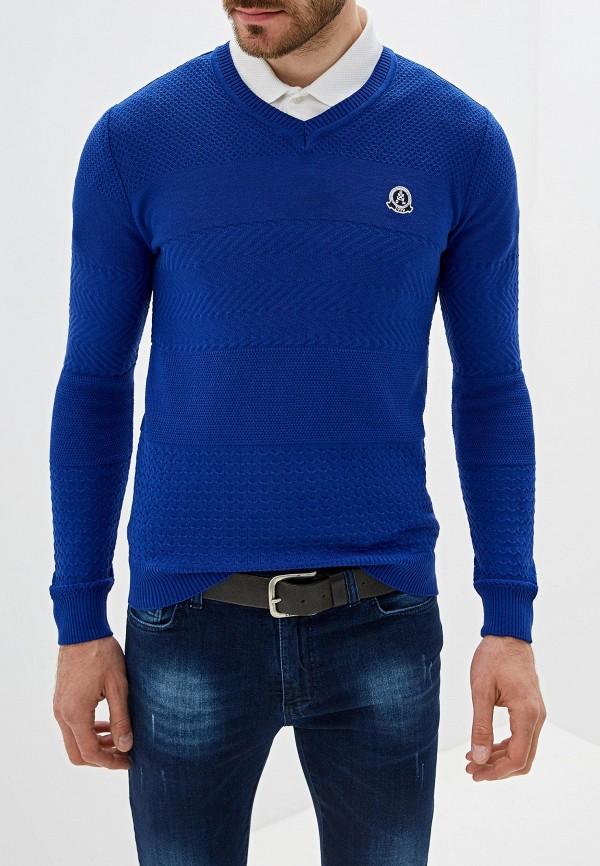 мужской пуловер giorgio di mare, синий