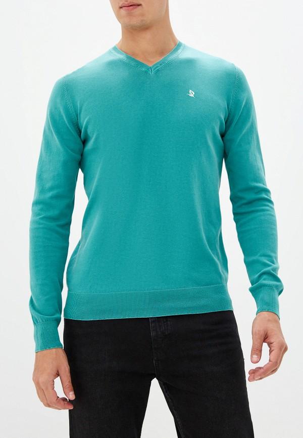 мужской пуловер giorgio di mare, зеленый