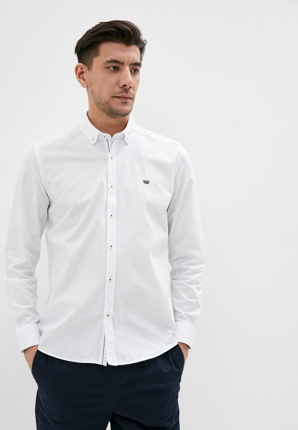 мужская рубашка с длинным рукавом giorgio di mare, белая