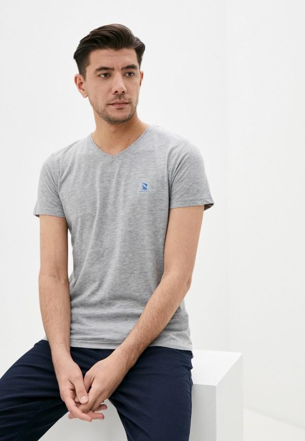 мужская футболка с коротким рукавом giorgio di mare, серая