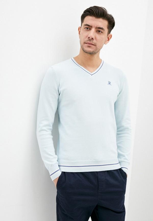мужской пуловер giorgio di mare, голубой