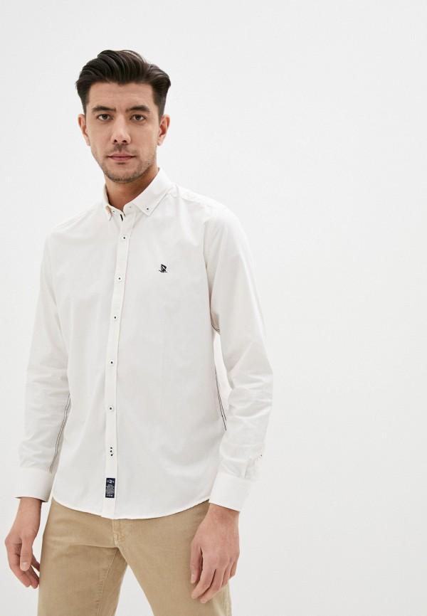мужская рубашка с длинным рукавом giorgio di mare, бежевая