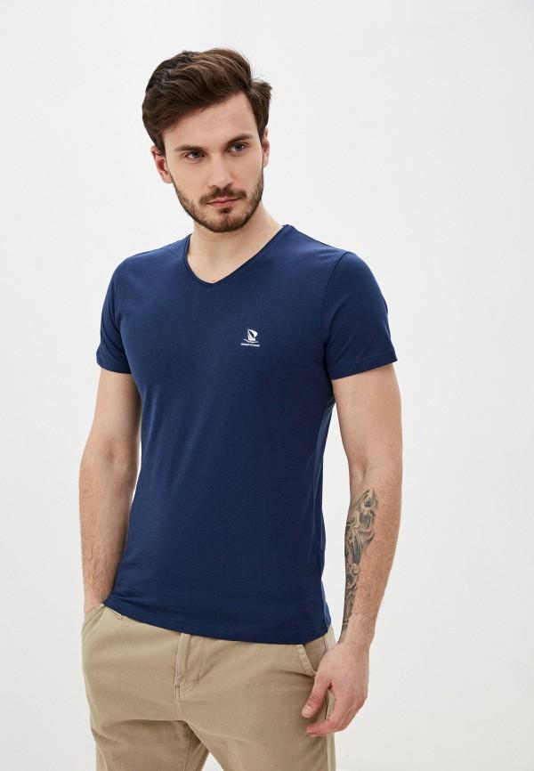 мужская футболка с коротким рукавом giorgio di mare, синяя