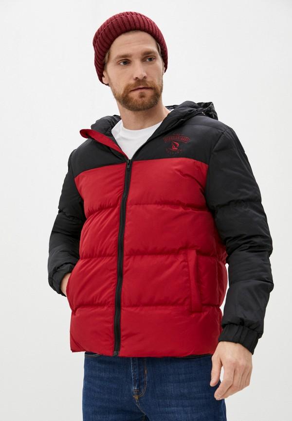 мужская куртка giorgio di mare, бордовая