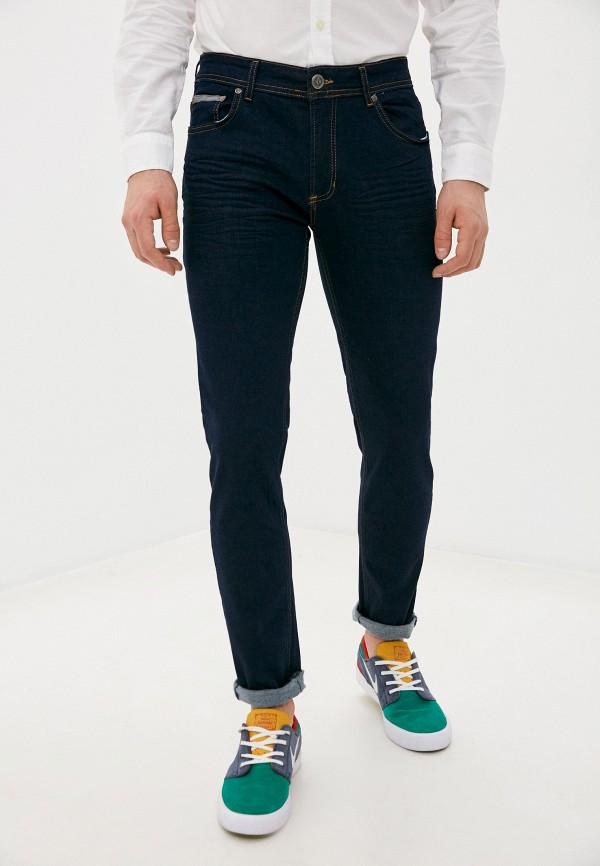 мужские зауженные джинсы giorgio di mare, синие