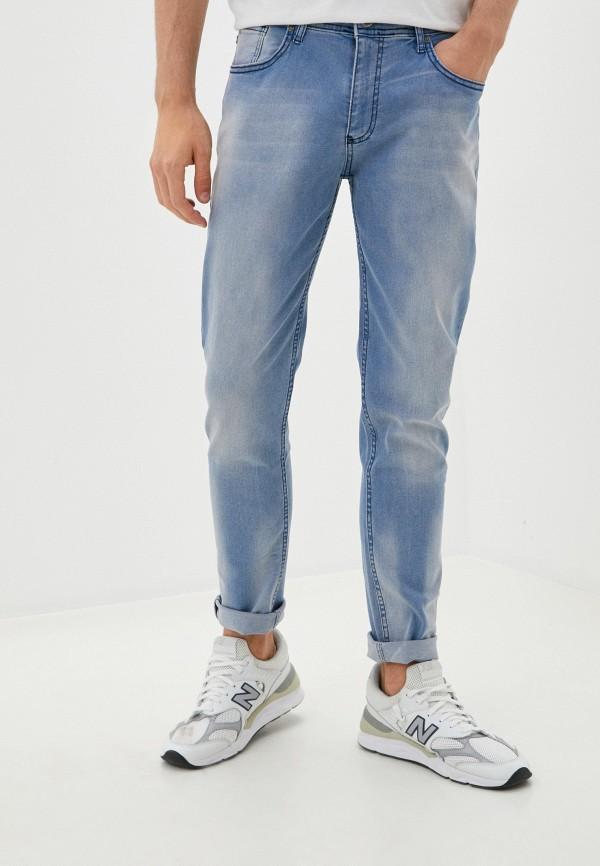 мужские зауженные джинсы giorgio di mare, голубые
