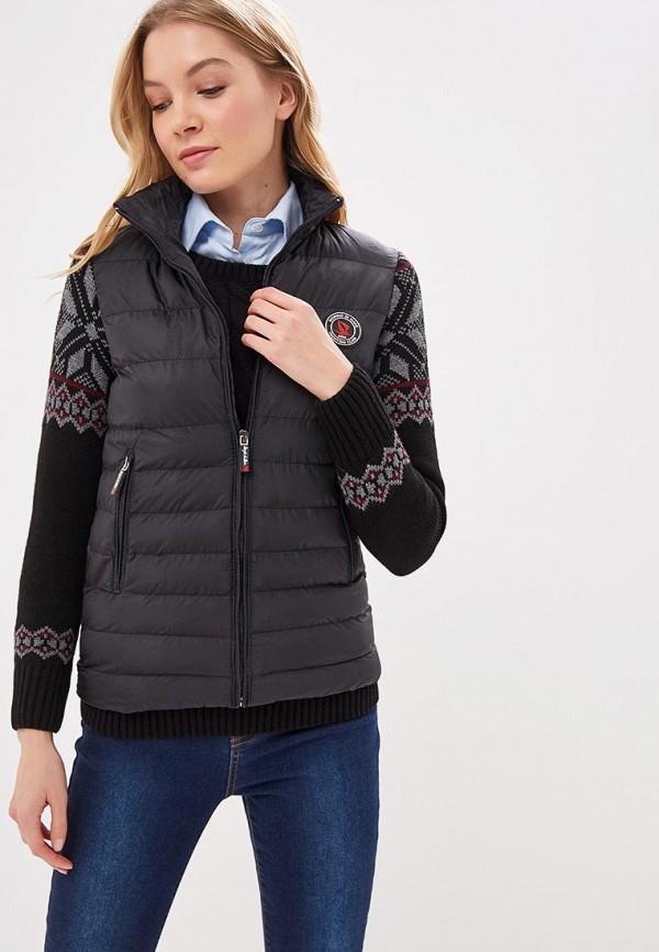 женская куртка giorgio di mare, черная