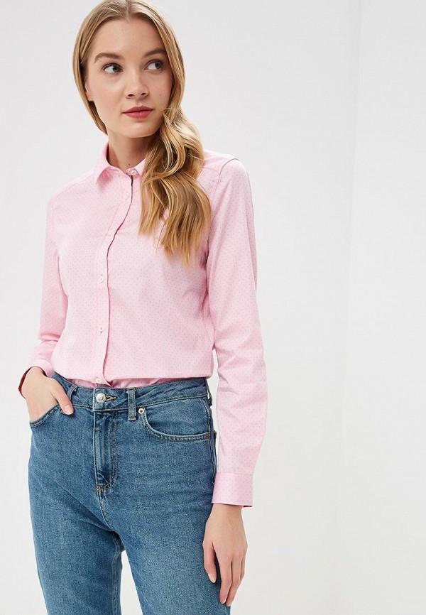 женская рубашка с длинным рукавом giorgio di mare, розовая