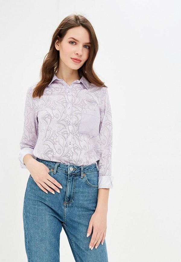 женская рубашка с длинным рукавом giorgio di mare, фиолетовая