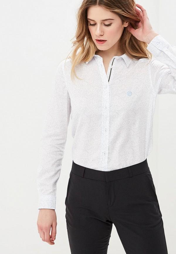 женская рубашка с длинным рукавом giorgio di mare, белая