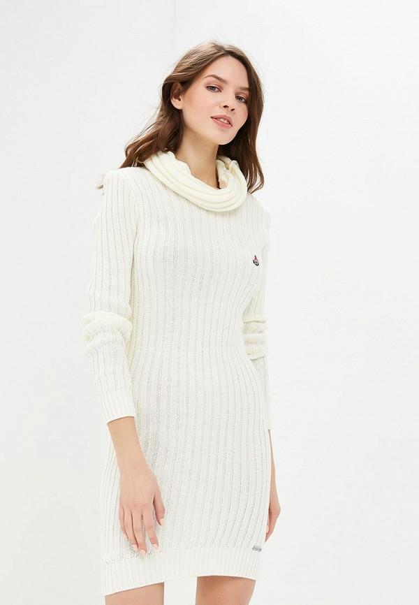 женское платье giorgio di mare, белое
