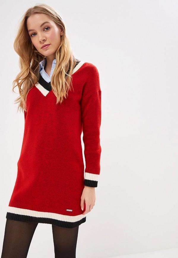 женский пуловер giorgio di mare, красный