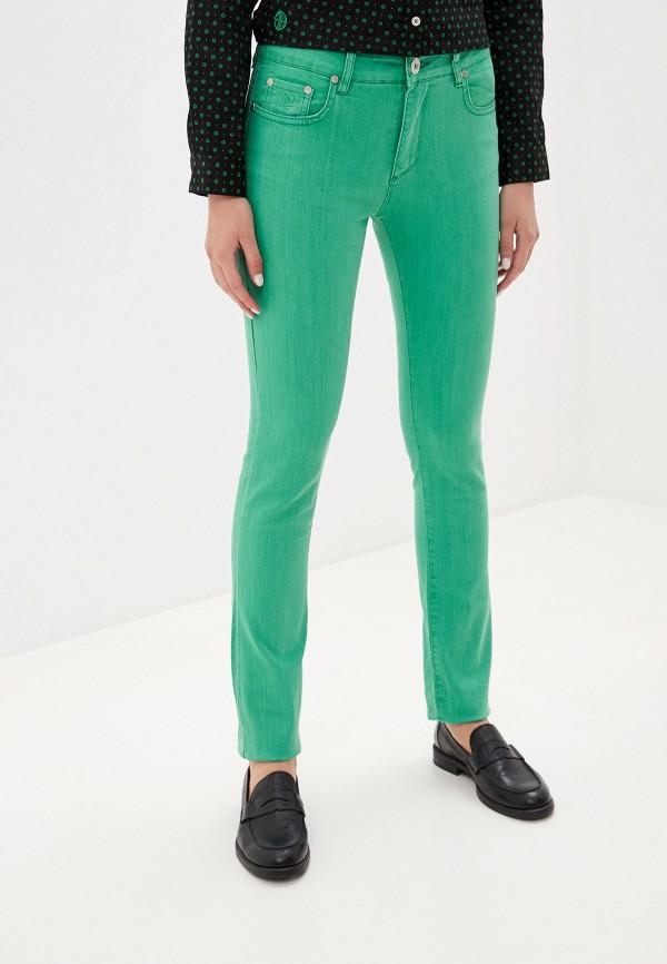 женские повседневные брюки giorgio di mare, зеленые