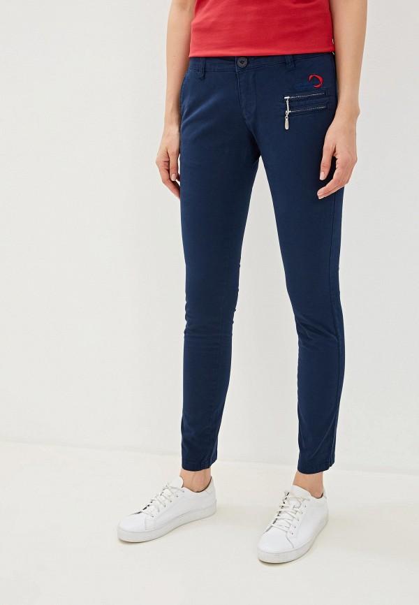 женские повседневные брюки giorgio di mare, синие