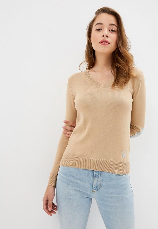 женский пуловер giorgio di mare, бежевый