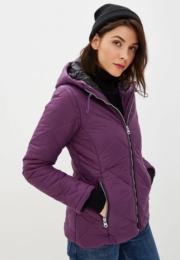 женская куртка giorgio di mare, фиолетовая