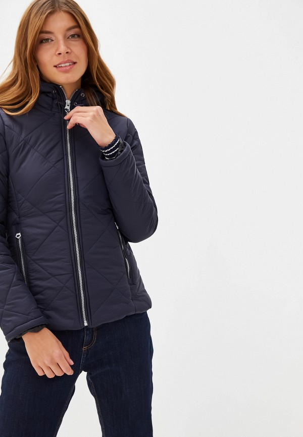 женская куртка giorgio di mare, синяя