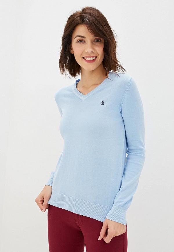 женский пуловер giorgio di mare, голубой