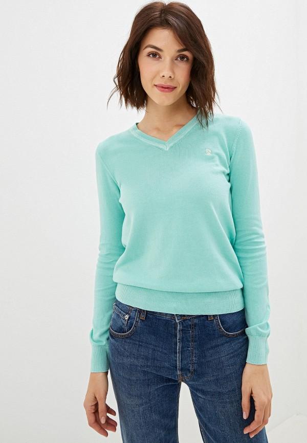 женский пуловер giorgio di mare, бирюзовый
