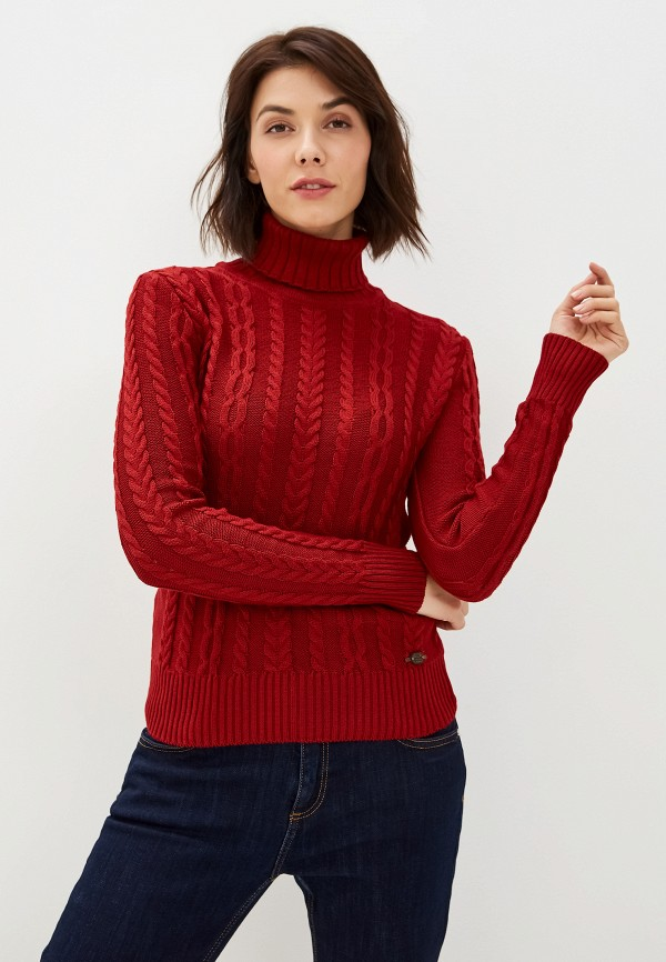 женский свитер giorgio di mare, бордовый