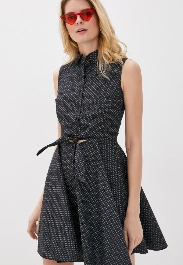 женское платье giorgio di mare, черное