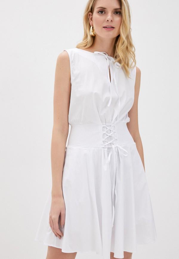 женское повседневные платье giorgio di mare, белое