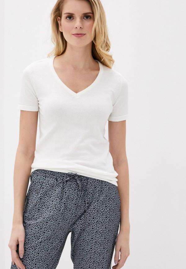 женская футболка giorgio di mare, белая