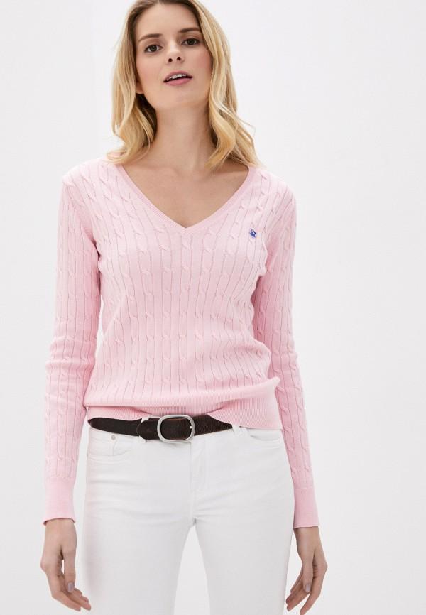 женский пуловер giorgio di mare, розовый