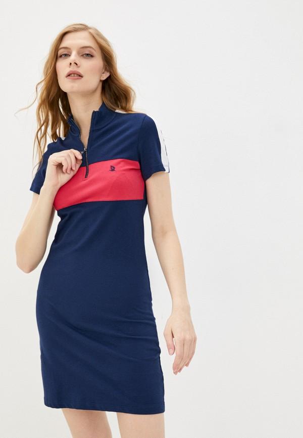 женское платье giorgio di mare, синее