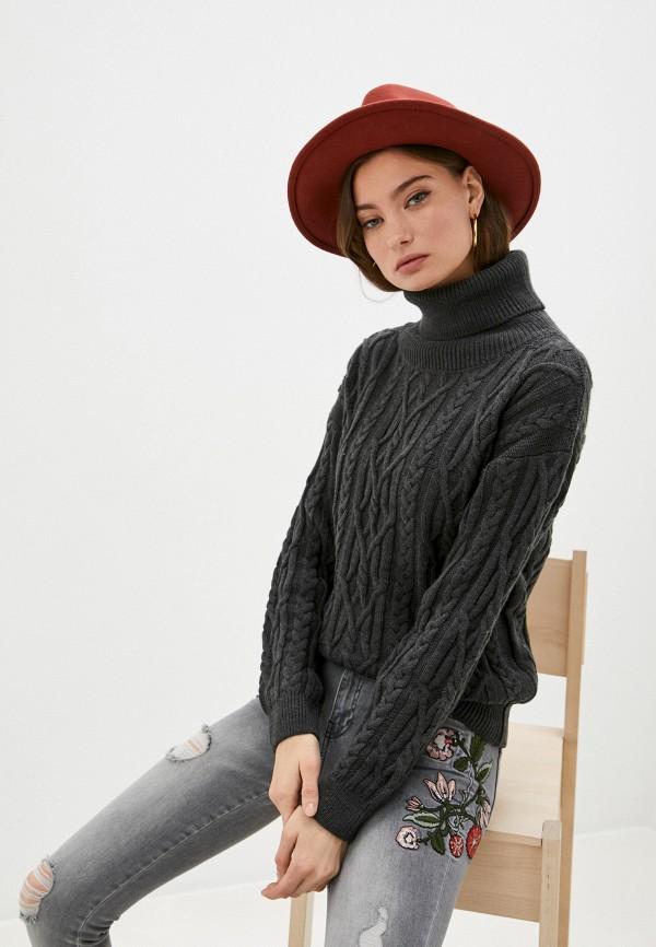женский свитер giorgio di mare, серый