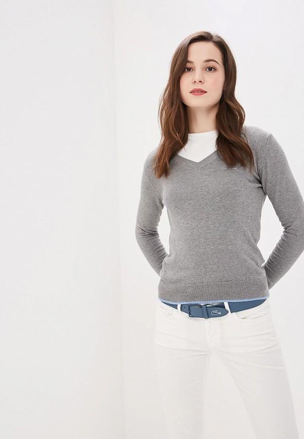 Фото - Пуловер Giorgio Di Mare серого цвета