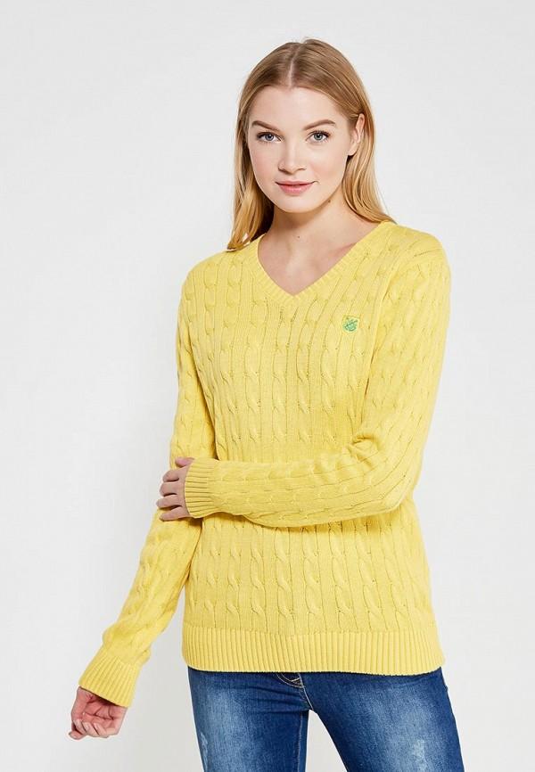 женский пуловер giorgio di mare, желтый