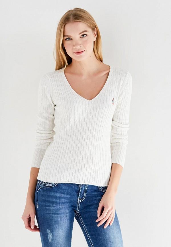 женский пуловер giorgio di mare, белый