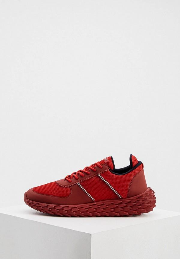 мужские кроссовки giuseppe zanotti, красные